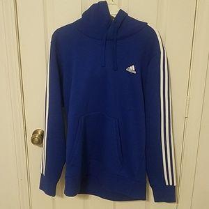 Adidas cobalt blue hoodie